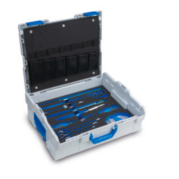 L-BOXX 136 incl. WK1 and Gedore Tool tray insert HVAC