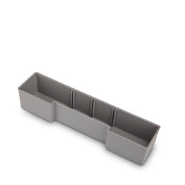 Inset box U3 grey