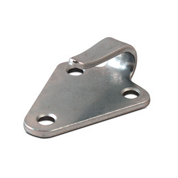 Hooked tie plate 50 x 40 mm