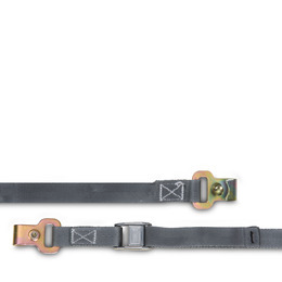 Lashing strap w. lock buckle
