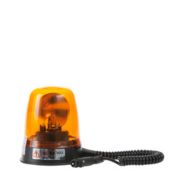 All-round warning beacon Halogen 12 V